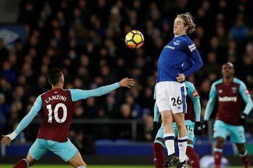 Everton vs West Ham match
