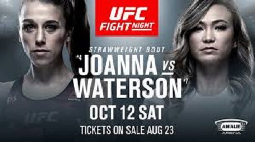 Joanna jedrzejczyk vs Michelle Waterson