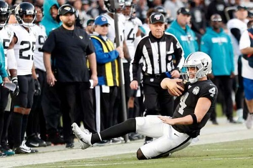 NFL apologized for the blown call in Raiders loss
