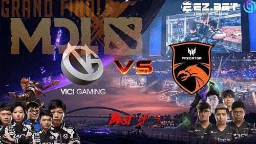 TNC Predator vs Vici Gaming