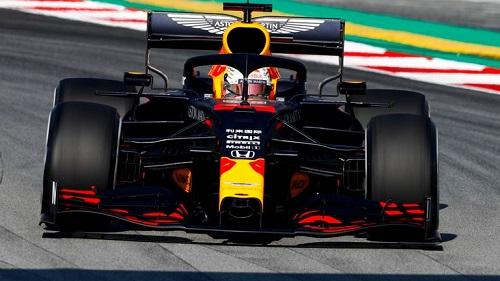 F1 Testing Session