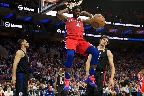 Philadelphia 76ers vs. Los Angeles Clippers (1)