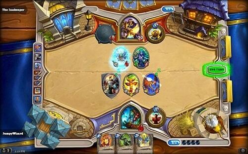 Hearthstone game play
